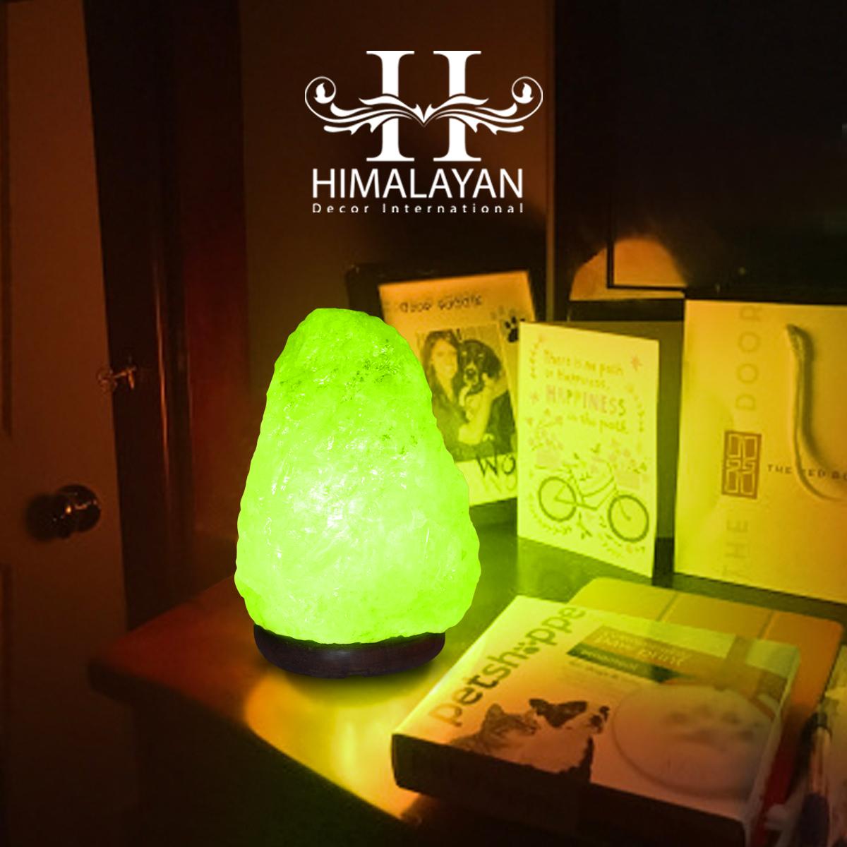 Original Himalayan Pink Salt Lamp Rock Light Lamps USB Multi Colour Changing LED