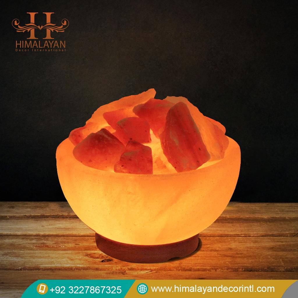 Himalayan Salt Lamp Bowl Shape