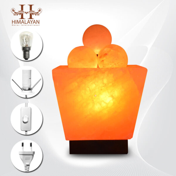 Bowl Salt Lamp