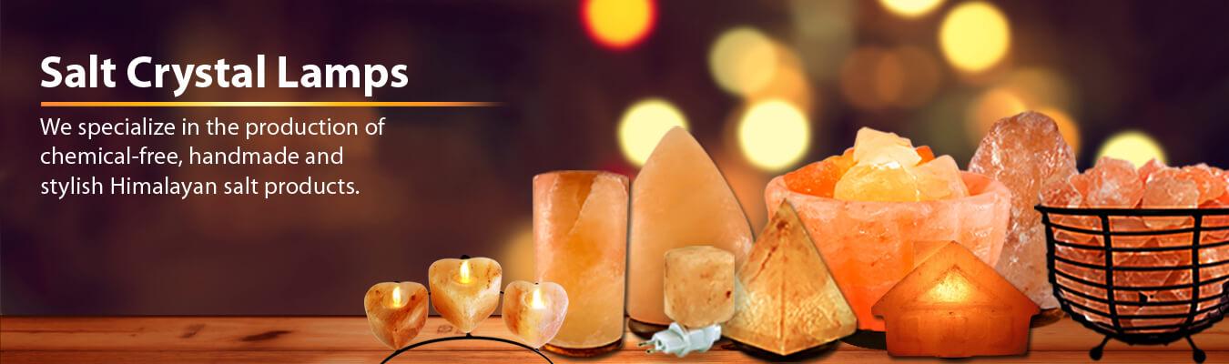 Himalayan Salt Lamps Exporters | Himalayan Decor International