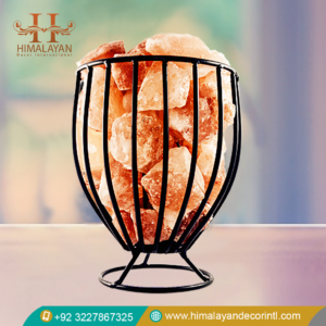 himalayan salt lamp wire basket
