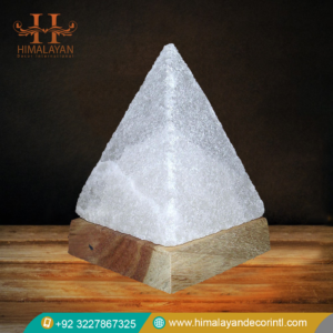 pyramid salt lamps
