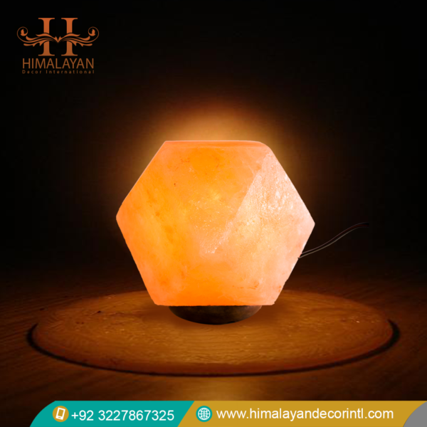 Diamond Shape Salt Lamps