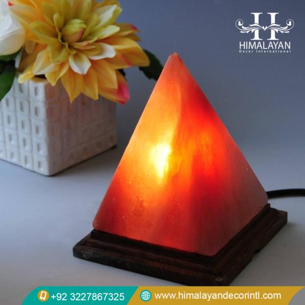 pyramid salt lamps